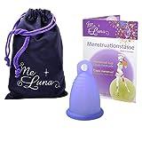Me Luna Menstruationstasse Sport, Ring, Blau-Violett, Größe L