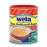 Klare Delikateß-Suppe Classic - wela 1/1 Dose
