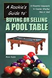 A Rookie's Guide to Buying or Selling a Pool Table: Ten Essential Components to Consider Whether New or Used