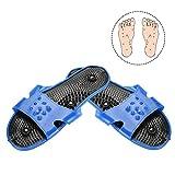 Pantofole per massaggio con digitopressione, scarpe per massaggi terapeutici magnetici pantofole per massaggi assistenza sanitaria attivazione del sangue calzature per massaggi rilassanti