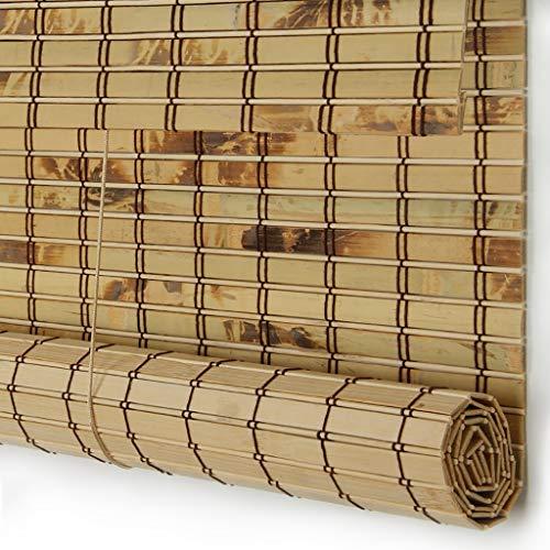 Bambusvorhang Leichtgewicht Wasserdicht Mehltau Proof Bambusrollo Mit Seitenzug Geeignet Für Balkon, Cut Off, Teehaus, Büro, Langer Pavillon (größe : 85x170cm)