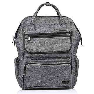 39a8e7acfb996 LEMESO Rucksack Damen Herren Studenten Backpack 14 Zoll Laptop Daypacks  Schüler für Wandern Reisen Camping (