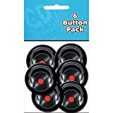 C&D Visionary Metall Button Party Pack 1,25 Record