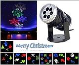 Projektion Lichter Valentine's Day Gift, INNOPLUS Rotierende Multicolor Slide - Weihnachten LED Scheinwerfer für Geburtstag, Urlaub, Hochzeit, Party, Kinderzimmer, Garten, Wohnkultur
