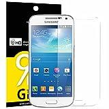 Panzerglas Samsung Galaxy S4 Mini, NEWC® Tempered Glass 9H Härte, Frei von Kratzern Fingabdrücken und Öl, HD Displayschutzfolie, 0.33mm Ultra-klar, panzerglas schutzfolie für Samsung Galaxy S4 Mini