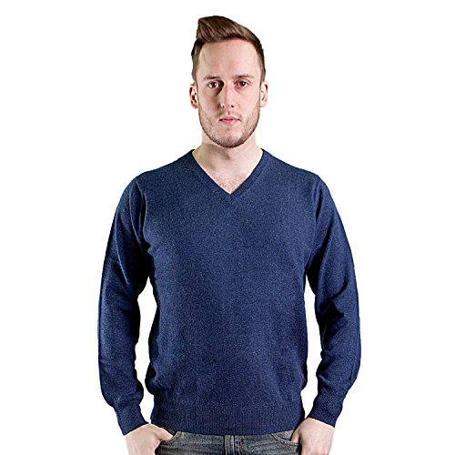 heritage-of-scotland-mens-merino-wool-plain-colours-v-neck-jumper