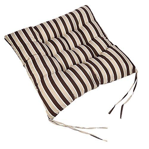 Rameng- Coussin de Sol, Coussins d'Assise Coussins de Chaise 40x40cm pour l'intérieur et l'extérieur (D)