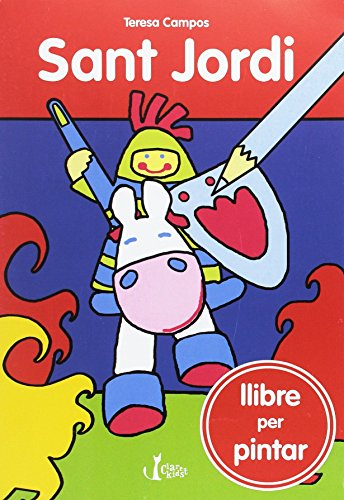 Sant Jordi: llibre per pintar