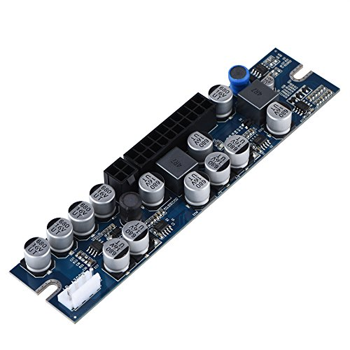 Sata-computer-netzteil (VBESTLIFE PC Netzteil DC 12V Eingang 300W Computer Netzteilmodul mit 24Pin Connect / AUX / SATA Kabel)