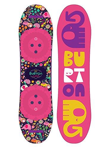 Burton Kinder Chicklet Snowboard, No Color, 130