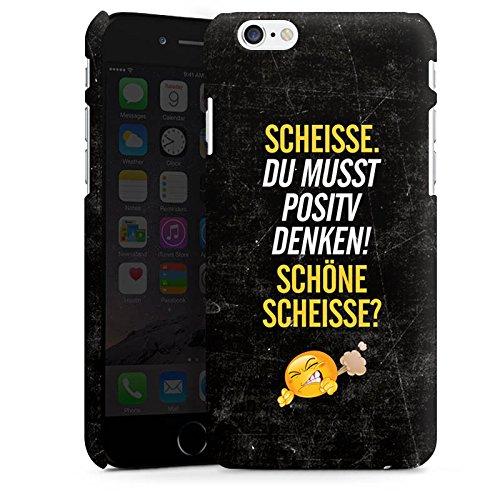 Apple iPhone X Silikon Hülle Case Schutzhülle Lustig Sprüche Humor Premium Case matt