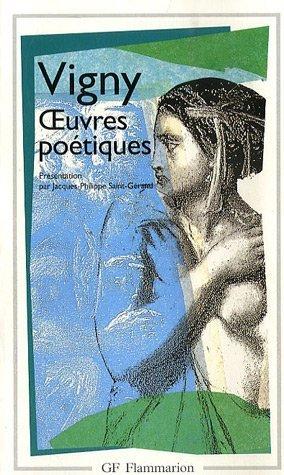 Oeuvres poétiques par Alfred de Vigny