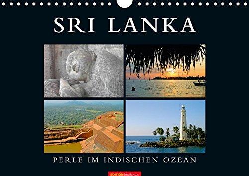 SRI LANKA (Wandkalender 2019 DIN A4 quer): Perle im indischen Ozean (Monatskalender, 14 Seiten ) (CALVENDO Orte)