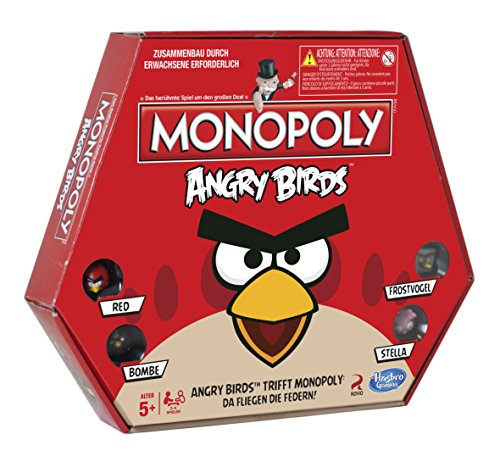 Hasbro A9342100 - Monopoly Angry Birds
