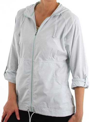 exofficio Frauen 'S dryflylite Cover Check Shirt Pale Eucalyptus