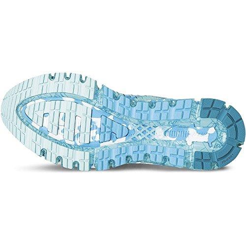 Asics Gel Quantum 360t5j6N-4042Donna Blu Scarpe Celeste