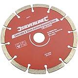 Silverline 868619 - Disco da taglio in diamante per cemento, 150 x 22,23 mm