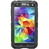 iProtect Samsung Galaxy S 5 Outdoor Case Schutzhülle Panzerglas wasserresistent - nicht wasserdicht in schwarz