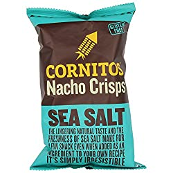 Cornitos Nachos Crisps, Sea Salt, 150g