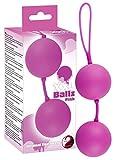 You2Toys Balls pink - softe Liebeskugeln für Frauen, 2 Loveballs mit rotierendem Vibroball,...