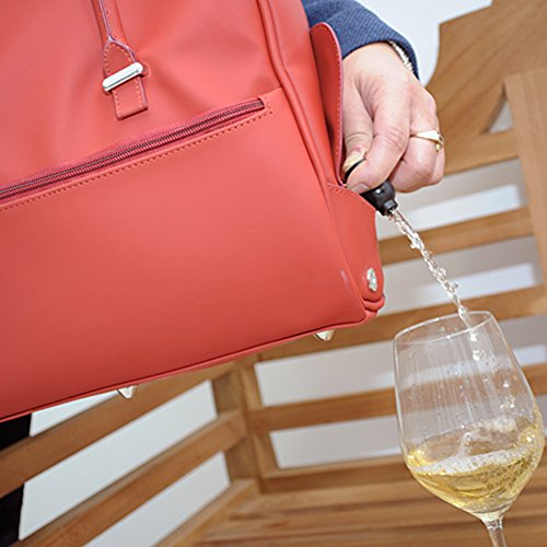 DrinksBag, Borsa a zainetto donna Red