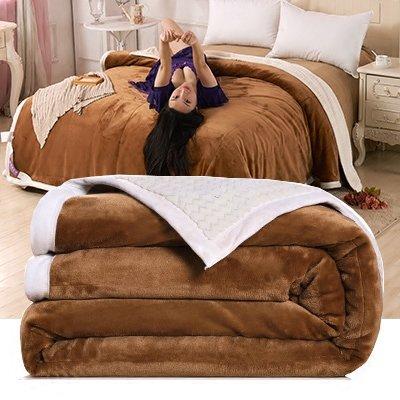 CLG-FLY Coperta invernale imbottito divano coperta matrimoniale