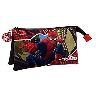 Spiderman Neceser de Viaje, 1.32 Litros, Color Rojo