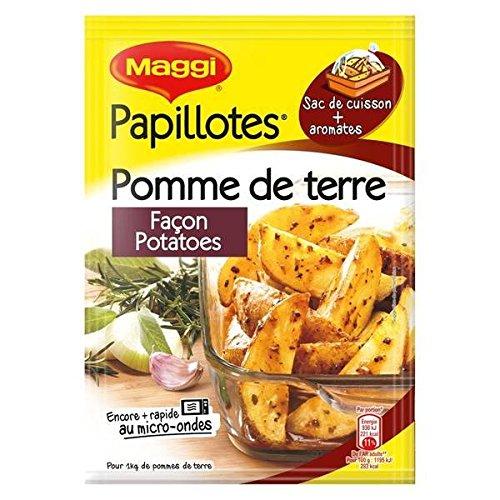 Maggi papillote pomme de terre façon potatoes 34g - ( Prix Unitaire ) - Envoi Rapide Et Soignée