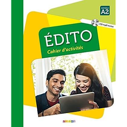 Edito niv.A2 - Cahier + CD mp3