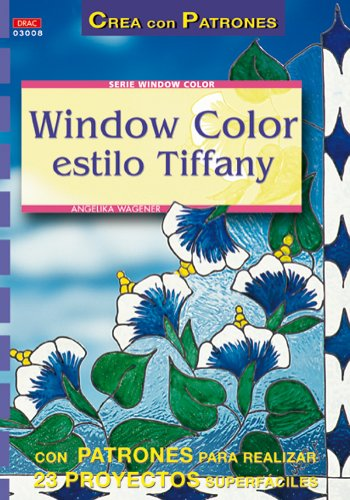 Serie Window Color nº 8. WINDOW COLOR ESTILO TIFFANY (Cp - Serie Window Color)