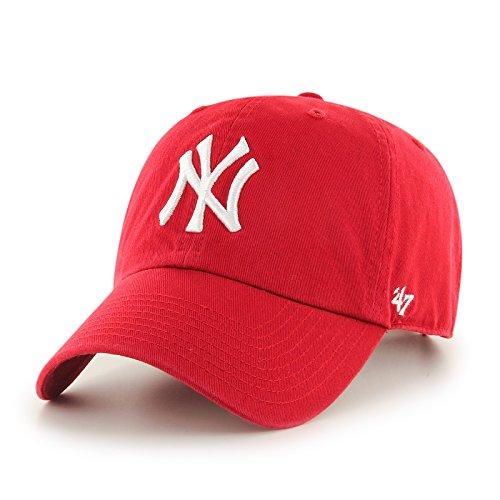'47 Erwachsene Kappe MLB New York Yankees Clean Up