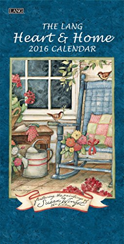 The Lang Heart & Home 2016 Verticle Calendar