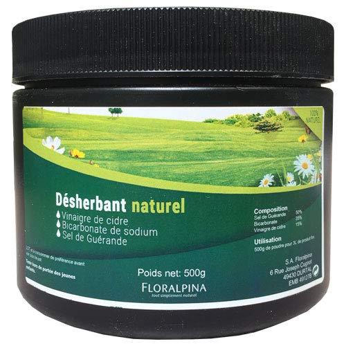 Ruedesplantes Désherbant Naturel 500g (sel, vinaigre et Bicarbonate)