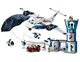 LEGO 60210 City Police Sky Police Air Base Playset, Police Station Plane Car and Parachute, Police Toys for Kids