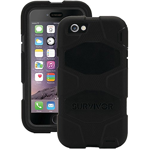 Griffin GB42761 - Carcasa para Apple iPhone 7, color negro