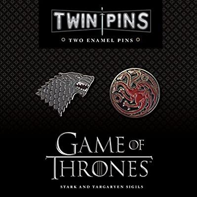 Game of Thrones House Stark & Targaryen Twin Pin Set