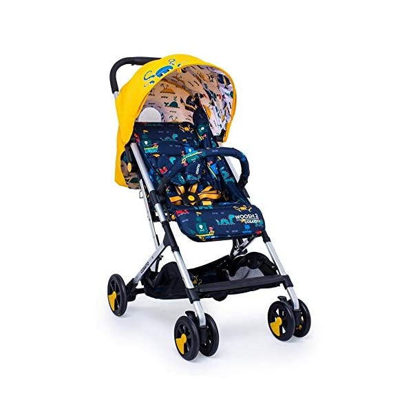Cosatto CT4226 Woosh 2 Sea Monsters 7.2 kg Cosatto Suitable from birth to max weight of 25kg, lets your toddler use it for even longer Lightweight, sturdy aluminium frame New-born recline 1