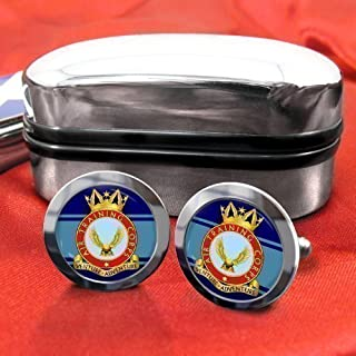 ATC Air Training Corps Mens Cufflinks with Chrome Gift Box