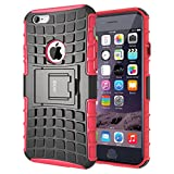 Best Doble Capa Iphone 6 Casos - iDoer caso de iPhone 6S,iPhone 6 Funda Carcasa Review