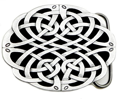 Celtic Knot Belt Buckle The Celtic God of Music Authentic Dragon Designs Product