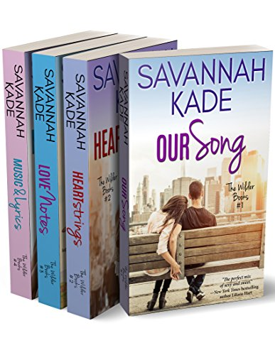 The Wilder Books - The Complete Set: Our Song, HeartStrings, Love