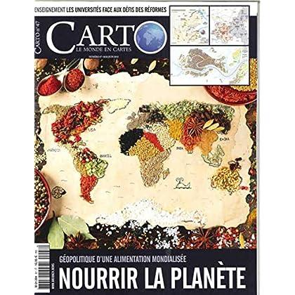 Carto N 47 Nourrir la Planete  Mai/Juin 2018