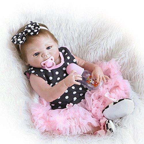 """ZIY IUI 20 """"49 cm Realista Bebé recién Nacido Muñeca Realista Bebé Reborn Hecho a Mano para niños Regalos de cumpleaños"""