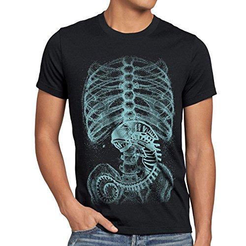 style3 Xenomorph Alien T-Shirt Herren, Größe:XL