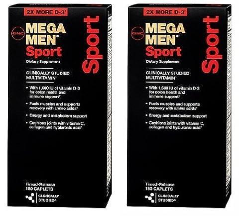 GNC Mega Men Sport - 90 & 180 Capsules Bottles