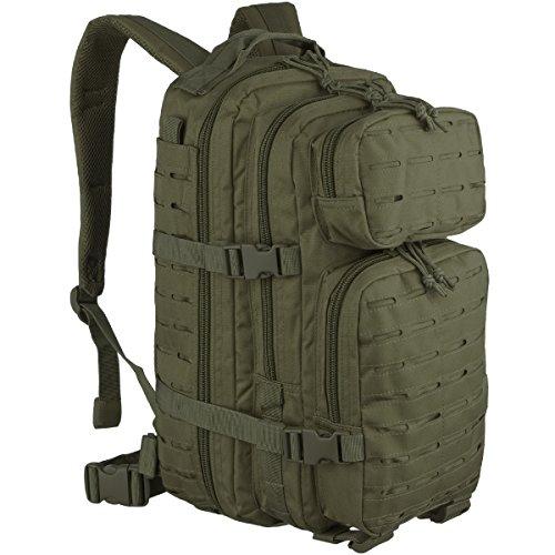 Zaino piccolo US Assault Pack Laser Cut Oliva