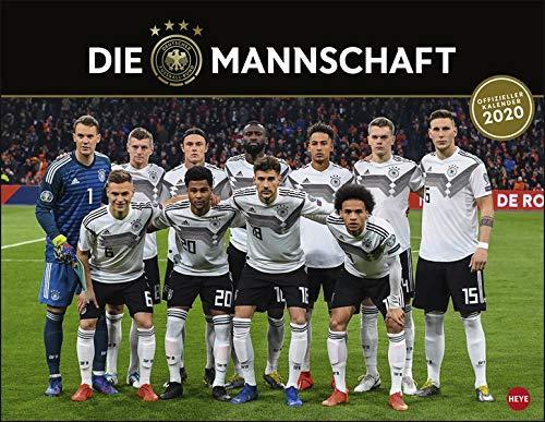 DFB Posterkalender. Wandkalender 2020. Monatskalendarium. Spiralbindung. Format 44 x 34 cm