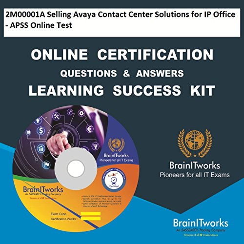 Preisvergleich Produktbild 2M00001A Selling Avaya Contact Center Solutions for IP Office - APSS Online Test Online Certification Learning Made Easy
