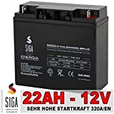 Blei Akku 22AH 12V AGM GEL Batterie Motorrad...