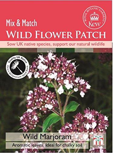 Thompson & Morgan Kew Wild Flower Patch Wild Majoran 1000 Samen